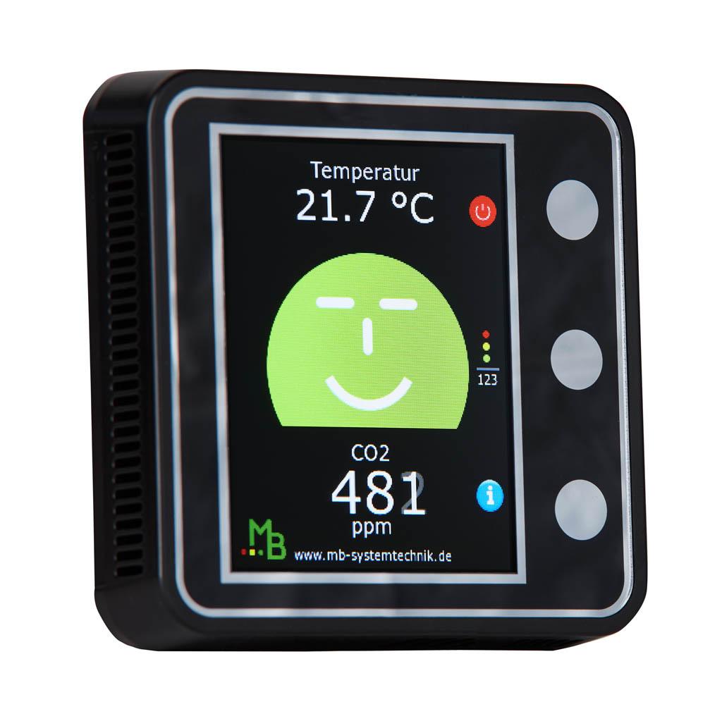 CO2 Ampel Design Home - MB Systemtechnik